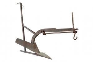 Metal plough