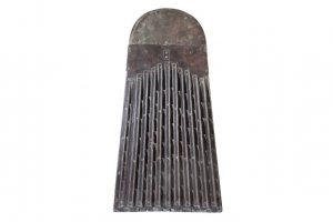 Metal threshing board