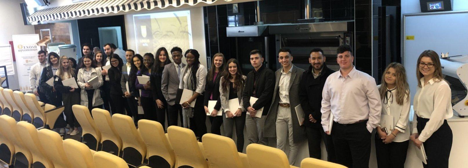 Επίσκεψη Αμερικανών φοιτητών
